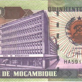 Мозамбик 500000 Meticais 2003г. в UNC из пачки