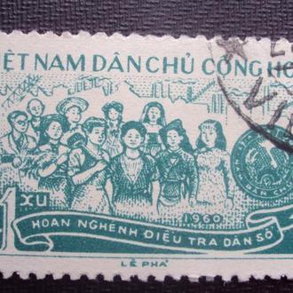 Вьетнам 1960г.гаш.