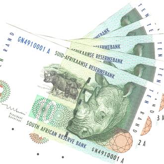 ЮАР 10 рандов 1999г. в UNC