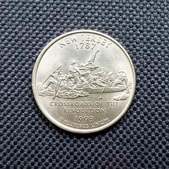 25 центов США, Нью-Джерси ( P )