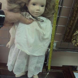 игрушка детская кукла фарфоровая девочка glorex 45см