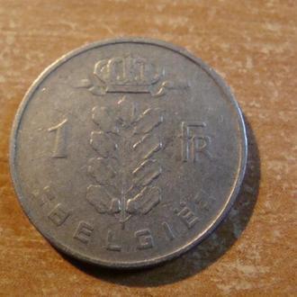 Бельгия 1 франк 1957