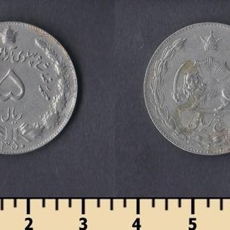 Иран 5 риалов 1971