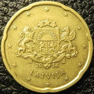 20 євроцентів 2014 Латвія