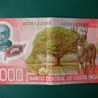 Коста-Рика 1000 колон 2009