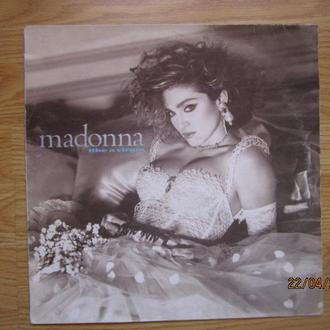 LP I Madonna ‎  Like A Virgin  Ex  Италия