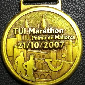Испания Пальма-де-Майорка медаль 2007 год,  дм. 60 мм.