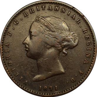 Джерсі 1/26 шилінга 1871     B177