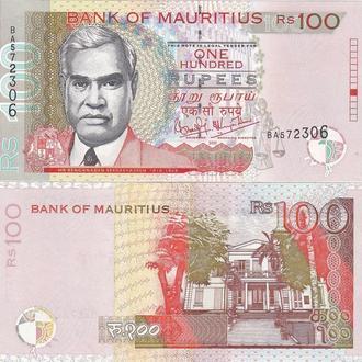 Mauritius Маврикий  100 Rupees 2001 UNC- JavirNV