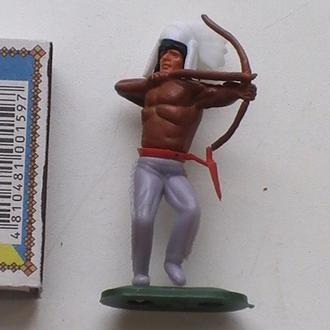 Солдатик Фигурка Индеец Западная Германия Фігурка Індіанець Західна Німеччина