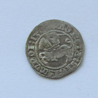 полугрош 1510 г Сигизмунд I Старый,  Литва, Вильно (C8)