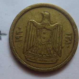 СИРИЯ, 5 пиастров 1960 г.