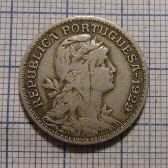 Португалия, 50 сентаво 1929 г.