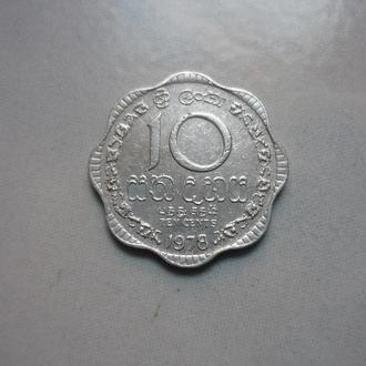 Шри-Ланка 10 центов 1978