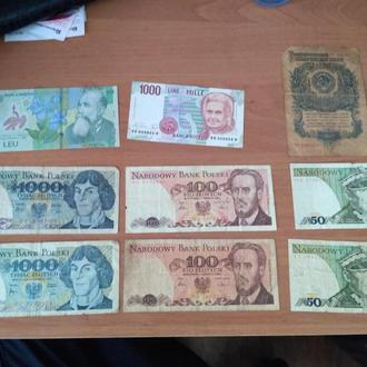 Деньги разных стран и эпох