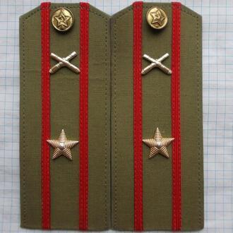 Погоны на рубашку обр. 57 г.