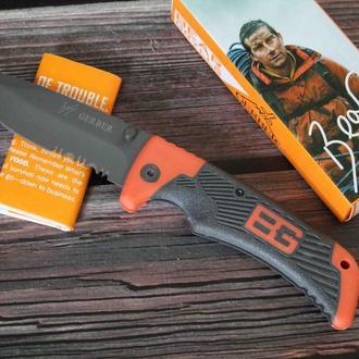 Туристический складной нож Gerber Bear Grylls Scout 18,5 см. с серрейтором