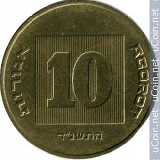 """Ізраїль 10 агорот, 1994 (ד""""נשתה)"""