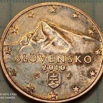 СЛОВАКИЯ, 2 цента 2010