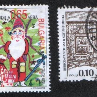 Болгария. Подборка марок. 2 марки