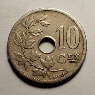 10 сантимов 1904 года Бельгия !!! а2