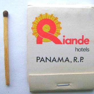 Спички.  Панама.  1976г.