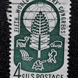Почтовая марка USA