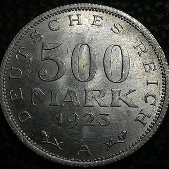 Германия 500 марок 1923 А в ОТЛИЧНОМ СОХРАНЕ!!!