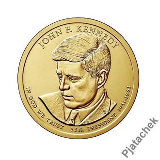 1 доллар Джон Кеннеди 35 -й президент США 2015 г