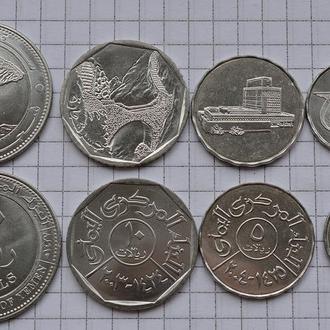 ЙЕМЕН набор монет 4с