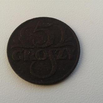 5 грош 1935 Польша