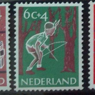 Нидерланды 1959 помощь детям