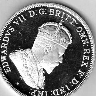 Австрали 20 центов 2000г (Георг VII  ЕлизаветаII)