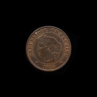 1 Сантим 1895 Церцея,(15) Франция