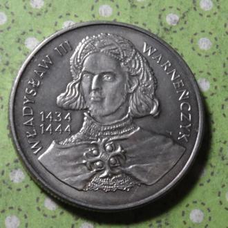 Польша 10000 злотых 1992 г Владислав III Варненчик