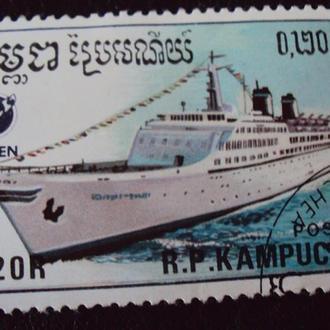 Камбоджа 1988г - 6марок