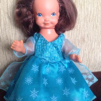 Кукла куколка Гдр 21см винтаж хитруля