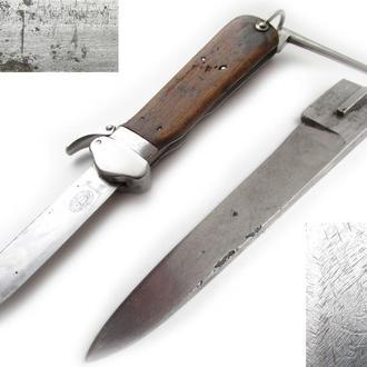 Рейх лезвие клинок ножа стропореза Koppmmesser парашютистов Paratrooper Люфтваффе Luftwaffe.