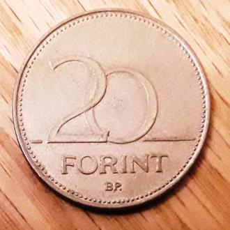 Венгрия 20 форинтов, 1994