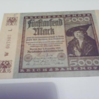 5 000 марок Німеччина-1922-більш.розмір