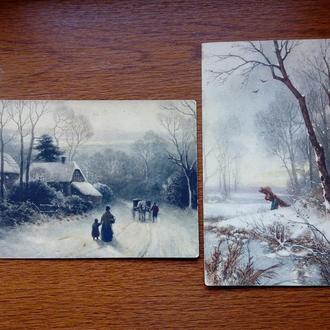 Старинные открытки.