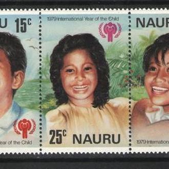 Науру - год детей 1979 - Michel Nr. 198-202 **