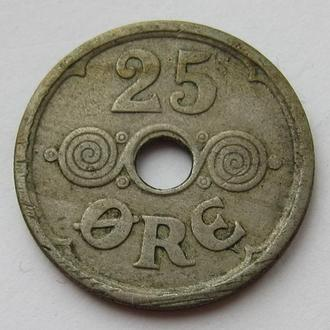 Дания 25 эре 1924 (KM#823.1)