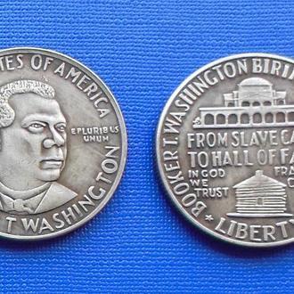 пол доллара США 1946 год Booker T WASHINGTON