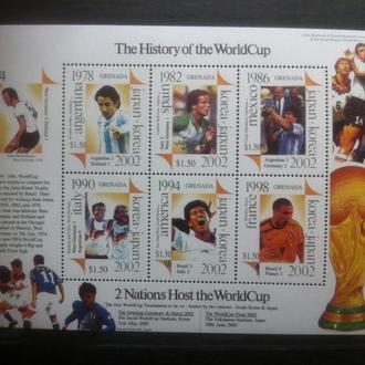 футбол ЧМ 2002 Гренада**