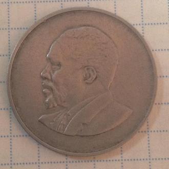 КЕНИЯ, 1 шиллинг 1968