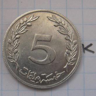 ТУНИС. 5 миллим 1983 г.