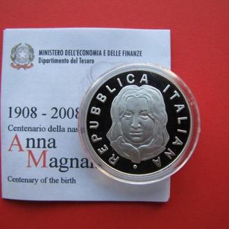 5 Евро 2008 Анна Маньяни,(45) Италия