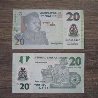 НИГЕРИЯ  2011г  20-наира пресс