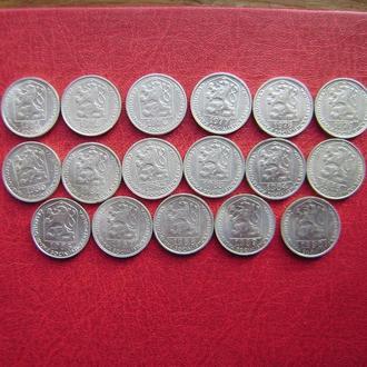Чехословакия 10 геллеров 1974 - 1990. См. прим.